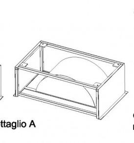 Ökoalpin® 100 cucina prefabbricata Acciaio inox