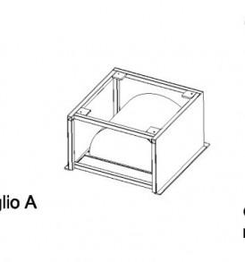 Ökoalpin® 60 cucina prefabbricata Acciaio inox