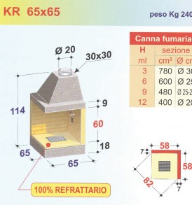 KR 65×65
